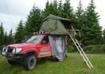 Stan na strechu auta - expedičný